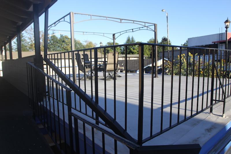 ABVI Outdoor Patio Area