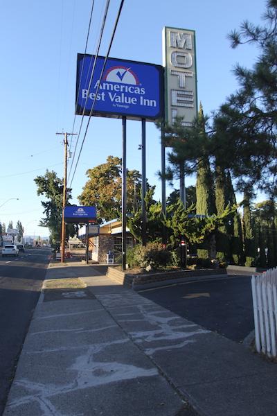 ABVI Street Sign