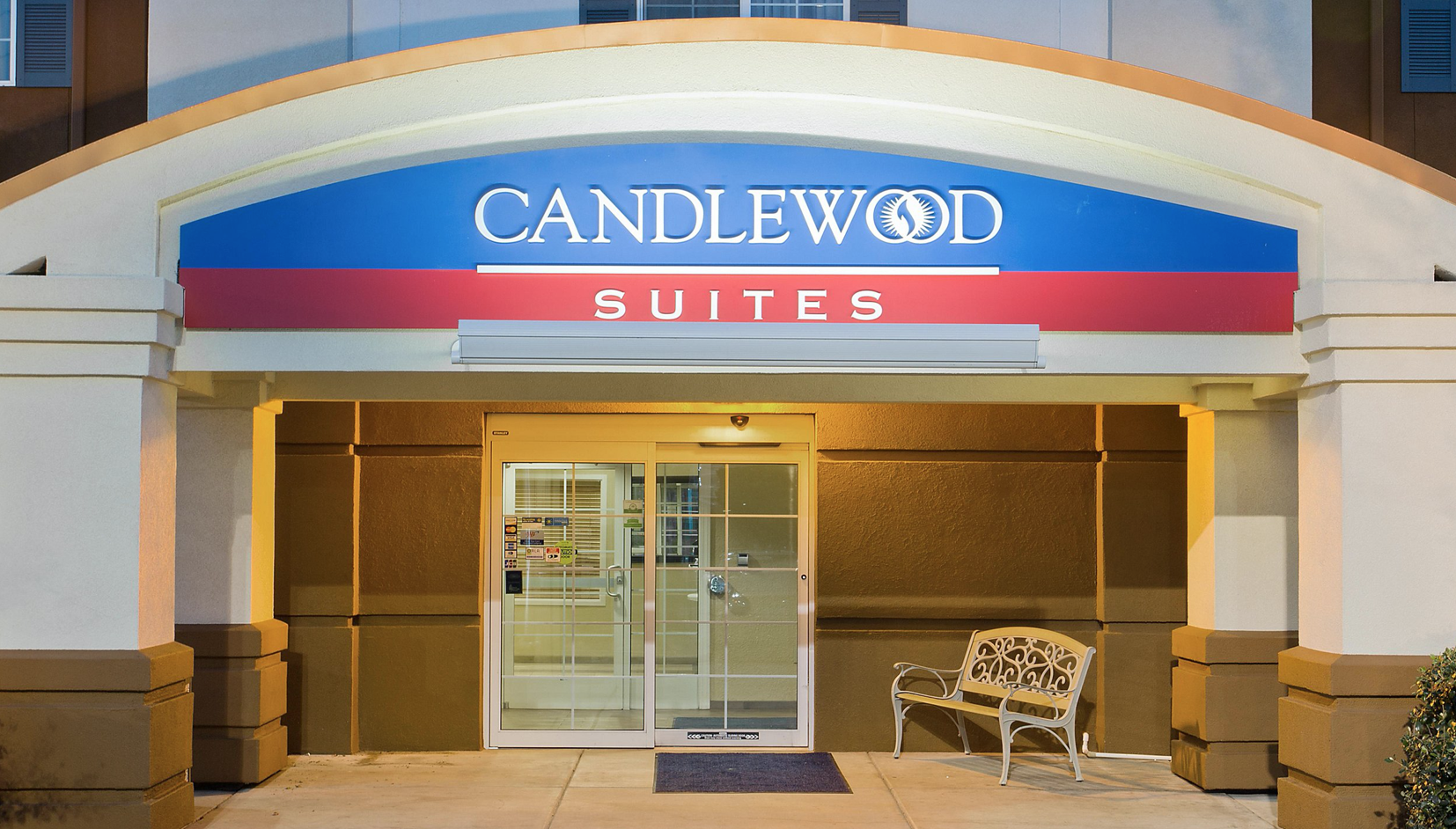 Candlewood Entrance